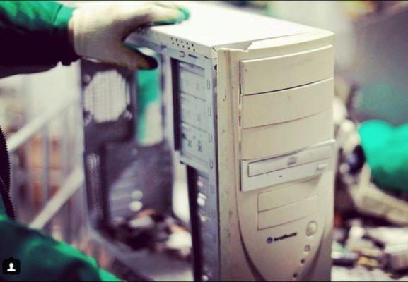 переработка электроники компьютеров техники в России