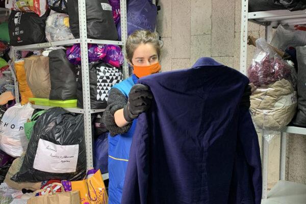Отправим одежду в Сибирь